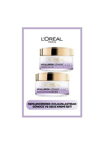 L'Oréal Paris Hyaluron Expert Gündüz + Gece Kremi Hyaluron Set Renkli